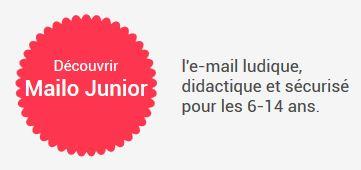 Mailo Junior: l'email ludique, didactique et sécurisé pour les 6-14 ans
